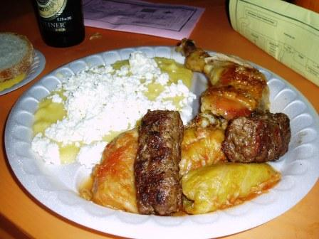 Moldavia Plate with Chicken Substitute